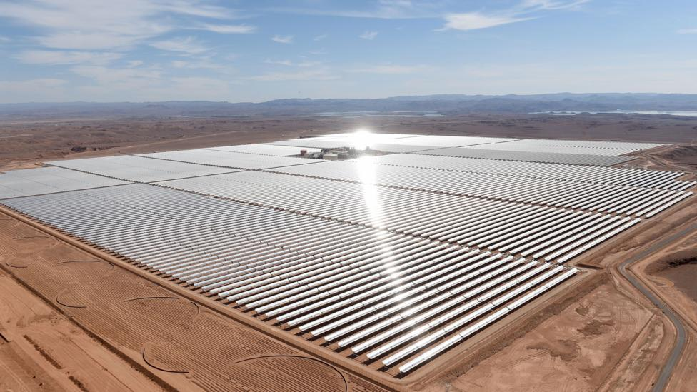 Image result for morocco solar energy