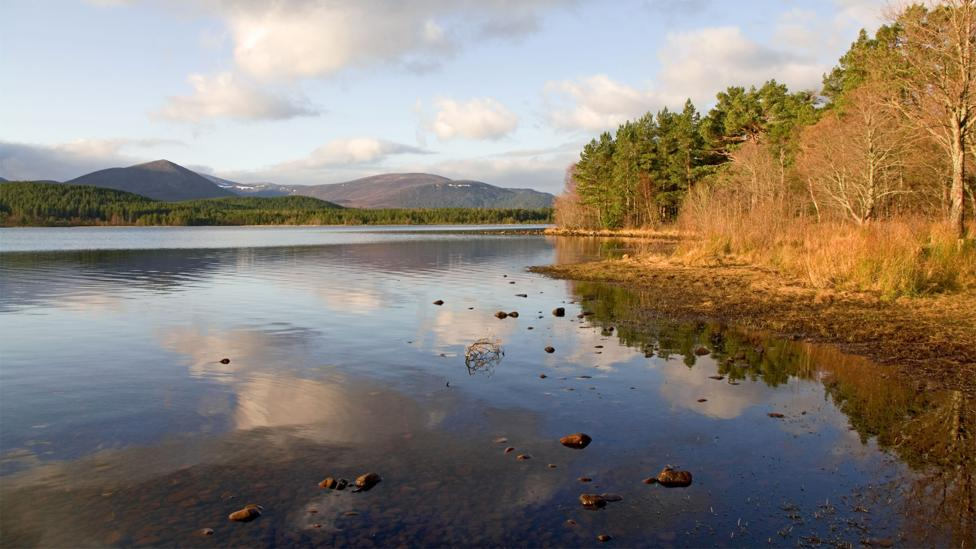 Until recently, it was not uncommon to find the remnants of Molotov cocktails in peaceful Loch Morlich (Credit: Alamy)