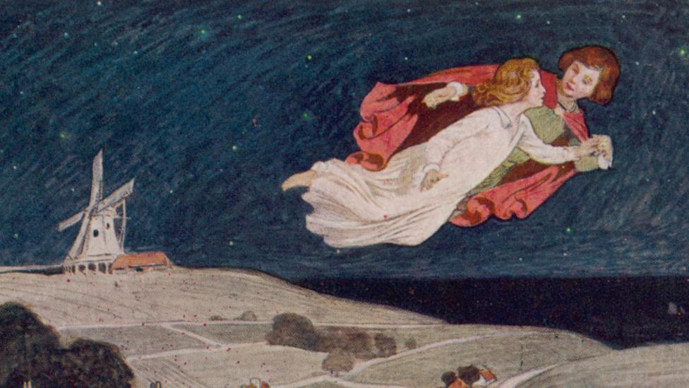 The journey to Neverland may reflect hypnagogia, the twilight zone between waking consciousness and sleep (Credit: Alamy)