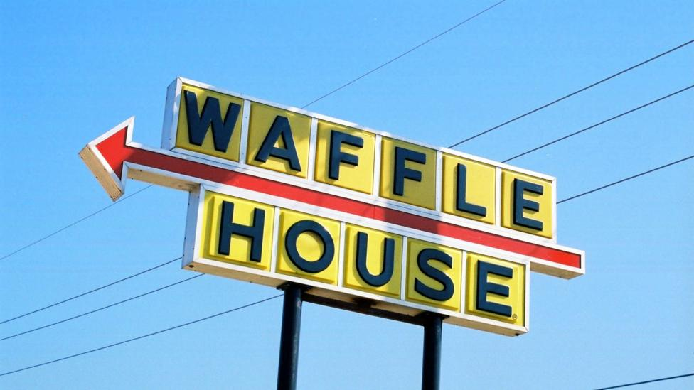 US authorities have used the length of the Waffle House menu to see if supplies at the restaurant are low after hurricanes (Credit: Flickr/Steve Snodgrass)