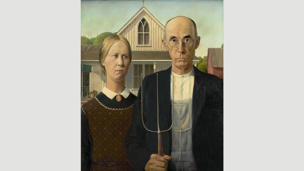 American Gothic will be on show at the Royal Academy in London in February – the first time the painting has travelled outside of North America (Credit: Alamy)