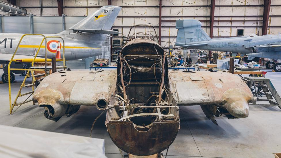 The restored Il-2 was shot down while helping break the siege of Leningrad in 1944 (Credit: Chris Hinkle)