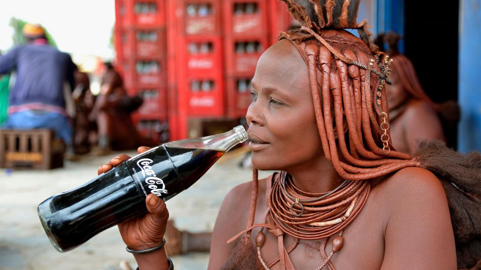 Opuwo is something of a cross-roads between the traditional Himba ways of life, and modern, urban living (Credit: Alamy)