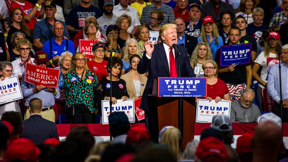 President Trump has been a divisive figure - and his critics fear that some of his more controversial behaviours may soon become the norm (Credit: Getty Images)