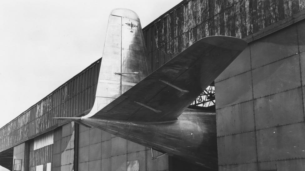 The Comet was first rolled out of a hangar near Hatfield, north of London, in 1949 (Credit: Getty Images)