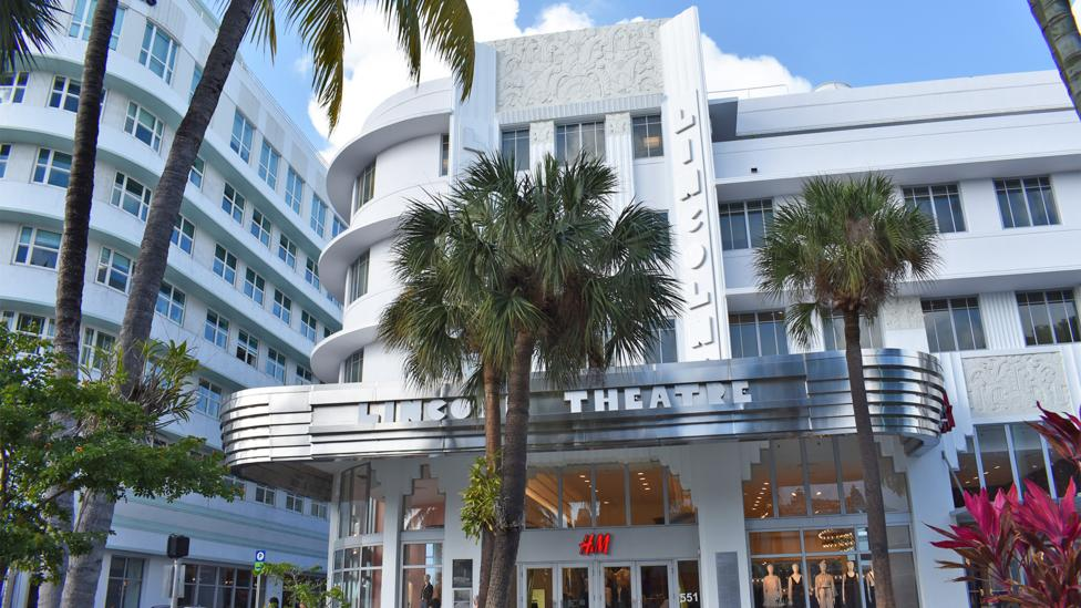Along with new developments, south Florida is home to historic properties which are at risk, as in the Art Deco district of Miami Beach (Credit: Amanda Ruggeri)