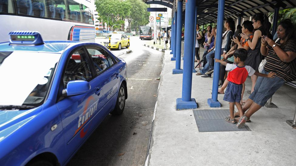 Public transport and taxis in Singapore are cheap and plentiful – so a car often isn't necessary (Credit: Getty Images)