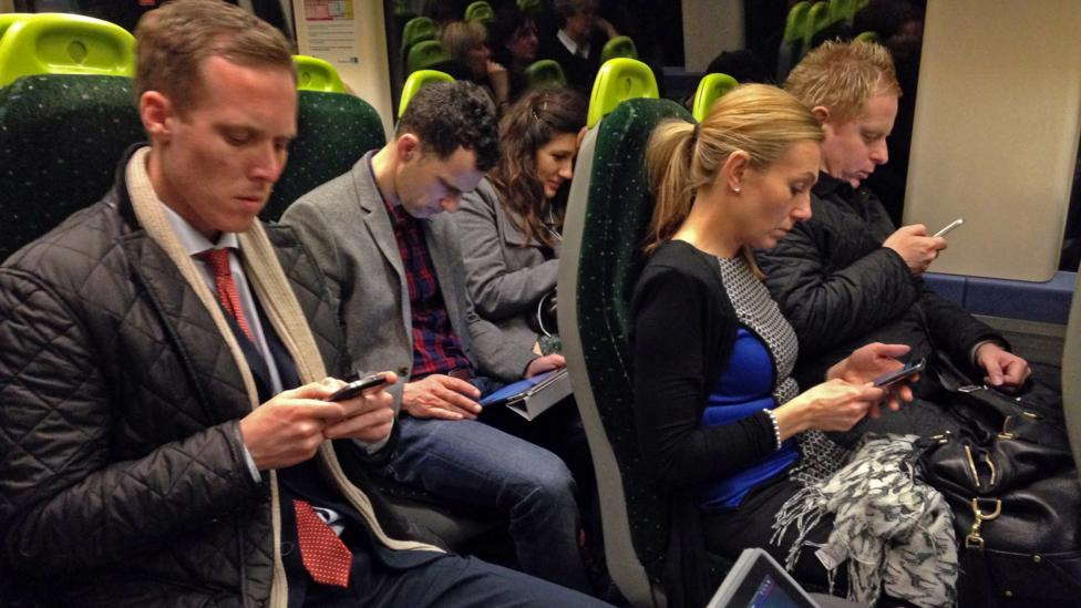 According to Nielsen, Americans spend 10.5 hours a day consuming media. And UK residents are close behind at almost 10 hours a day, according to eMarketer. (Credit: Getty Images)