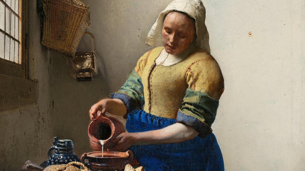 The Milkmaid (Credit: Rijksmuseum)