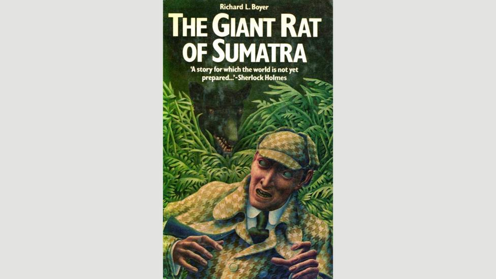 Doyle often teased Sherlock Holmes mysteries without further elaboration, such as the story of The Giant Rat of Sumatra, which others later fleshed out (Credit: Titan)