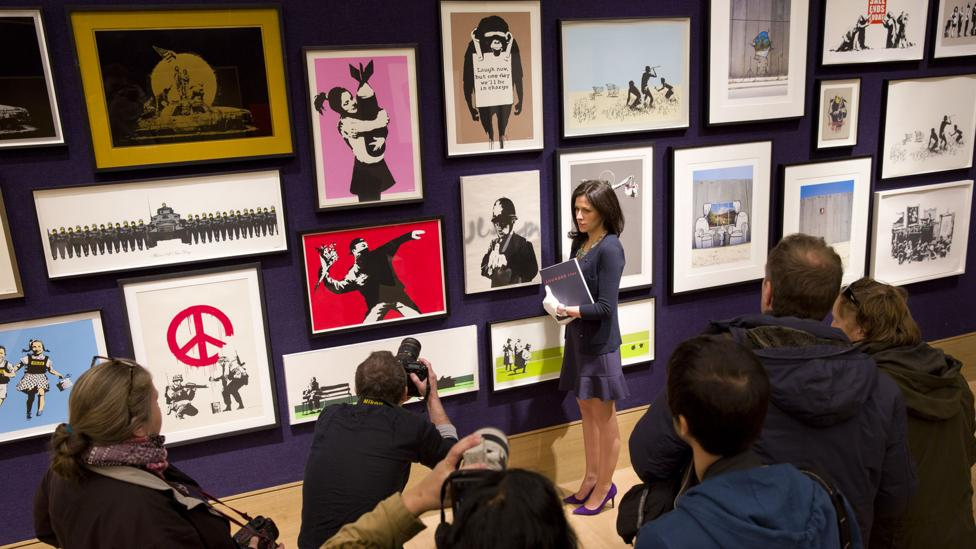 Artists and writers, like Banksy, have leveraged anonymity as a benefit for centuries. But anonymity is under threat in our interconnected digital society. (Credit: Getty Images)