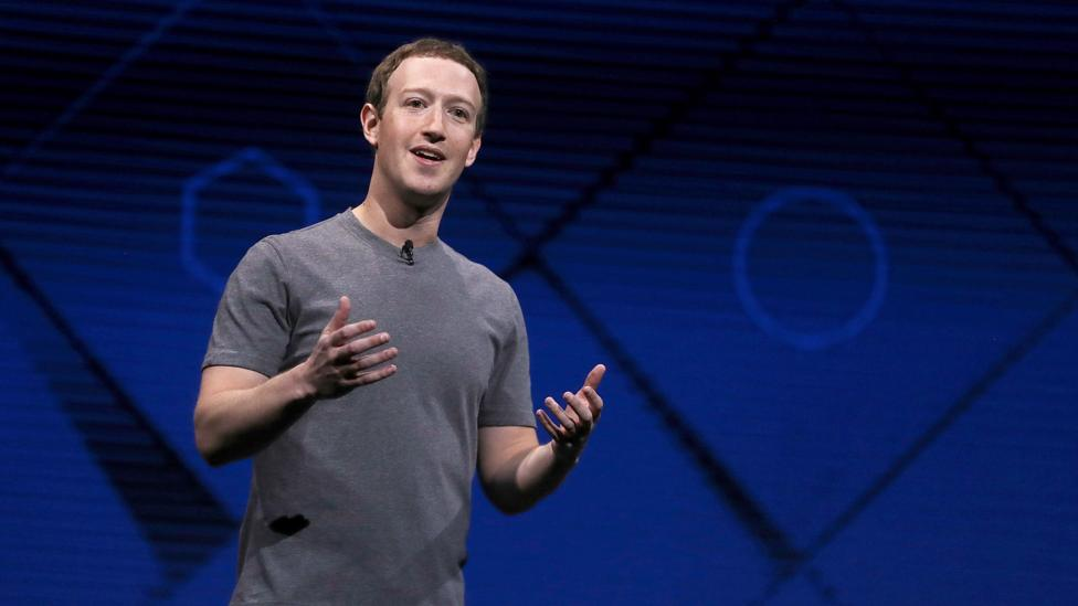 """Those who do not take chances are on the path to """"guaranteed failure"""", according to Facebook founder Mark Zuckerberg (Credit: Getty Images)"""