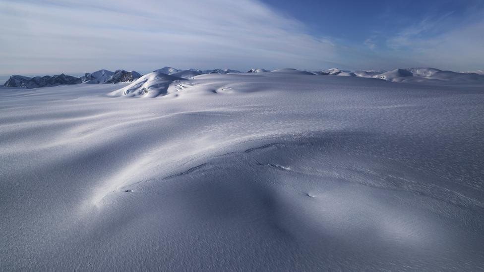 After a major eruption, sulphuric acid snows down on the poles (Credit: Getty Images)