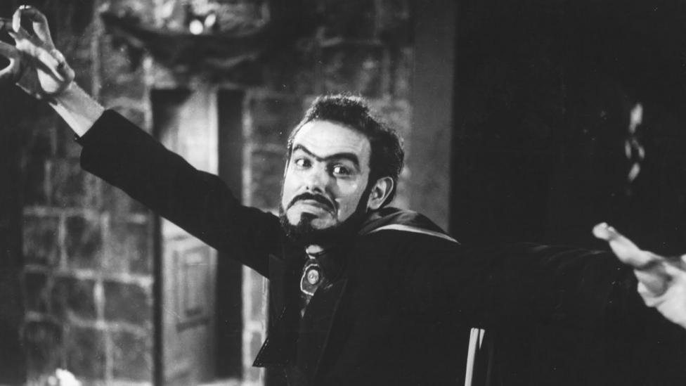The villain Coffin Joe was always on the hunt for the 'perfect woman' to bear his child – the Coffin Joe trilogy spanned films from 1963 to 2008 (Credit: Anchor Bay)