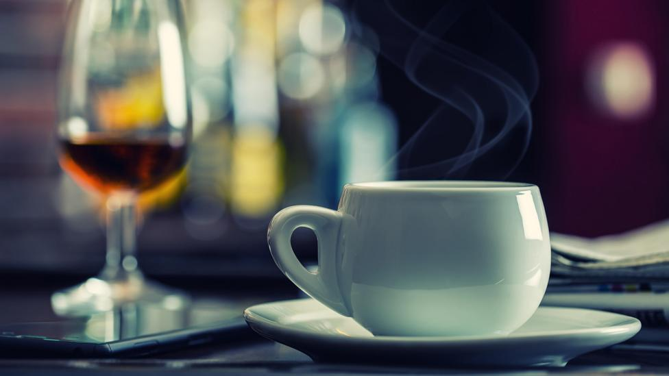 Alcohol, coffee and even air conditioning can affect how we sleep, Walker says (Credit: Alamy)