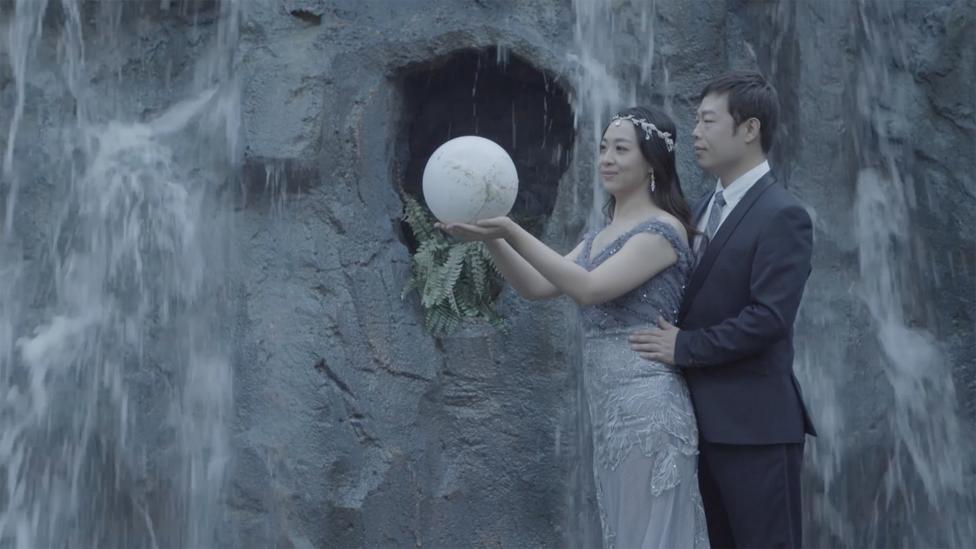 Inside Beijing's immense, fantastical wedding photo studio