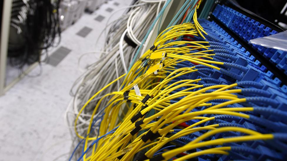 Data centres, stark warehouses full of cables, give off a lot of heat that's being used to warm homes (Credit: Ericsson)