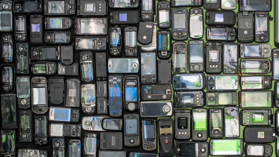 Electronic waste is rising sharply across Asia as higher incomes allow hundreds of millions of people to buy smartphones and other gadgets (Credit: Getty)