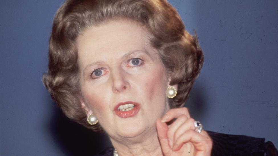 Former UK Prime Minister Margaret Thatcher used metaphors, rhetoric, contrasts, lists, moral conviction and sentiment of the collective in speeches (Credit: Getty Images)