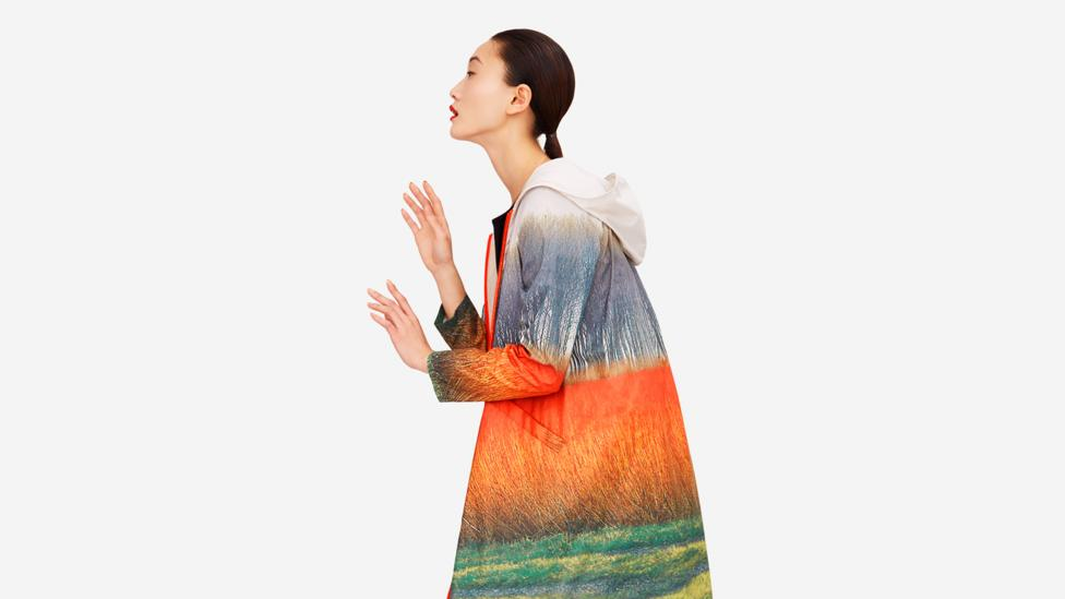 The Spanish designer Sybilla has collaborated with Ecoalf, creating a collection of brightly-hued, lightweight garments that have been made with fabric recycled from fishing nets