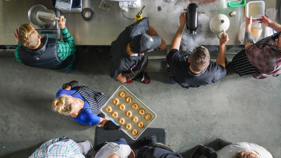 Hampton Creek has a staff of dozens of food scientists and computational biologists (Credit: Hampton Creek)