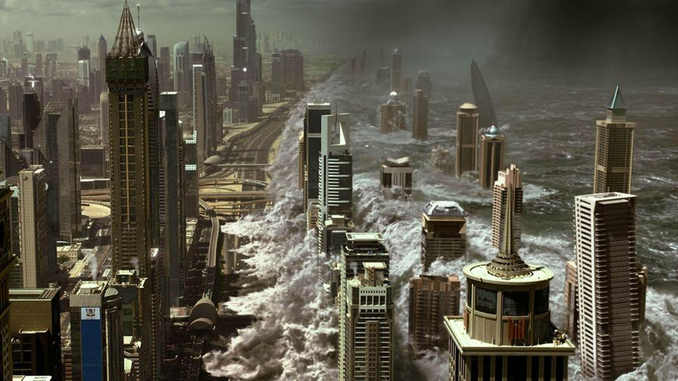 In the film Geostorm, weaponised weather satellites cause global mayhem (Credit: Alamy)