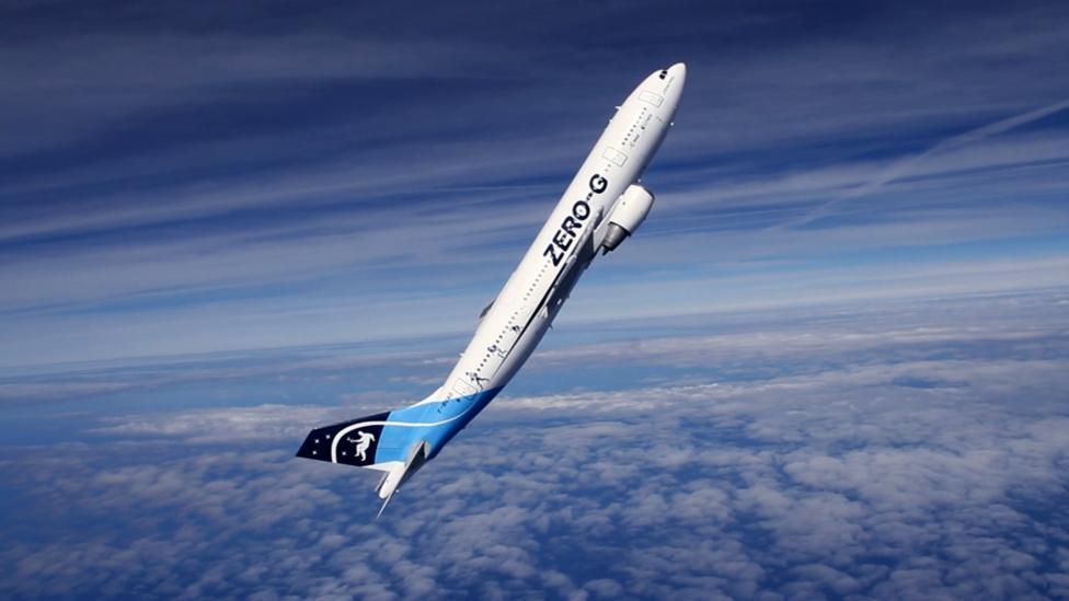 Esa A310 in parabolic flight (Credit: Esa)