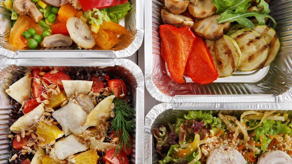 Meals in trays (Credit: Getty Images)