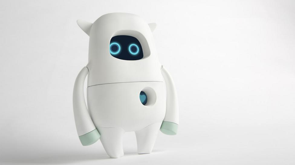 With its teddy bear shape and wide eyes, Musio's creators ensured the robot's aesthetics would be pleasing, and not intimating, to consumers (Credit: AKA)