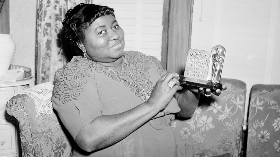 Until the ceremony in 1944, supporting actor and supporting actress winners, such as Hattie McDaniel, received a plaque instead of a statuette (Credit: Getty)