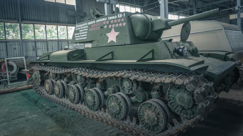 Soviet KV-1 tank (Credit: Anton Skyba)