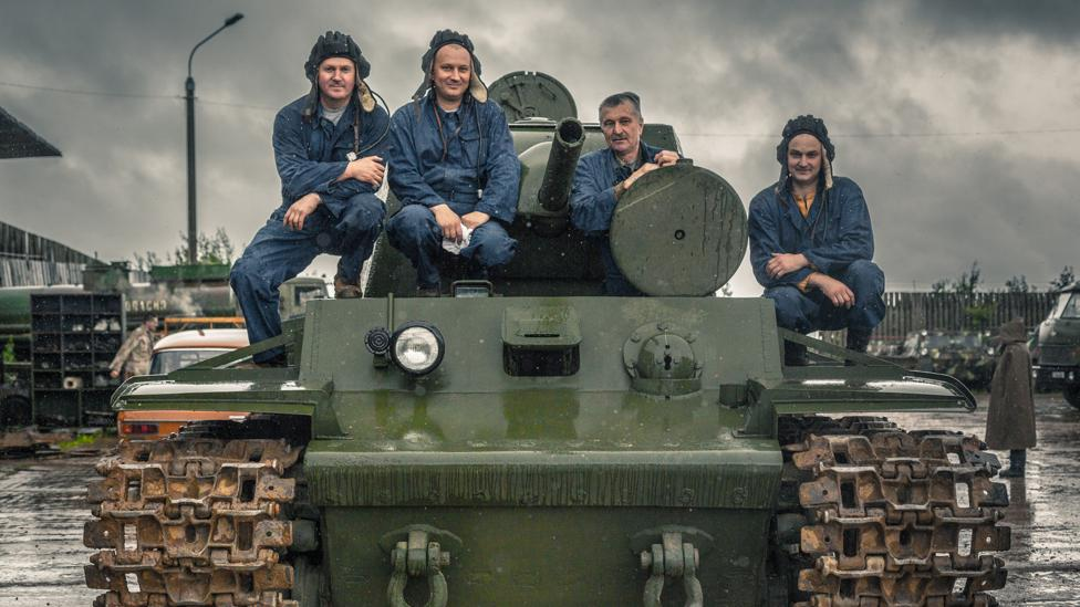 The work has not made them rich, but the tank-hunters say their work feels like a holiday (Credit: Anton Skyba)