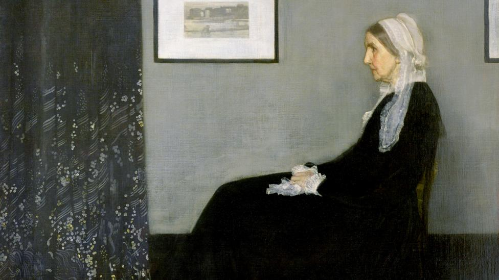 James McNeill Whistler's Arrangement in Grey and Black No 1, famously known as 'Whistler's Mother,' is one of the most iconic works of American art (Credit: Alamy)