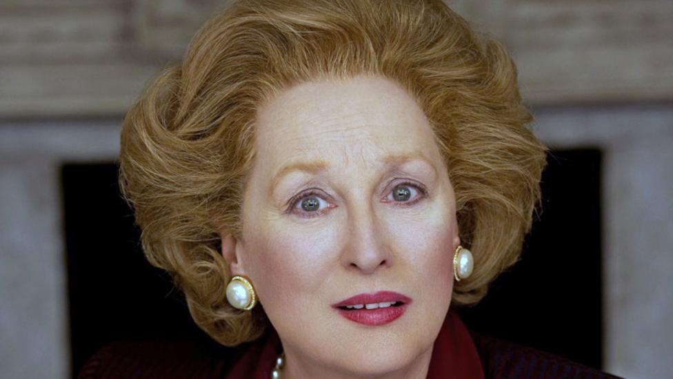 Meryl Streep won numerous awards, including an Oscar, for her portrayal of Margaret Thatcher in An Iron Lady (Credit: Alamy)