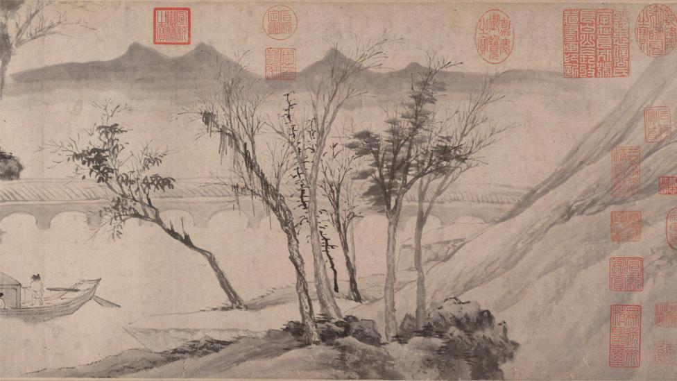 The multiple perspectives found in Asian landscape painting, such as in Tang Yin's Farewell at the Bridge of the Hanging Rainbow, prefigures Picasso's Cubist style (Credit: Alamy)