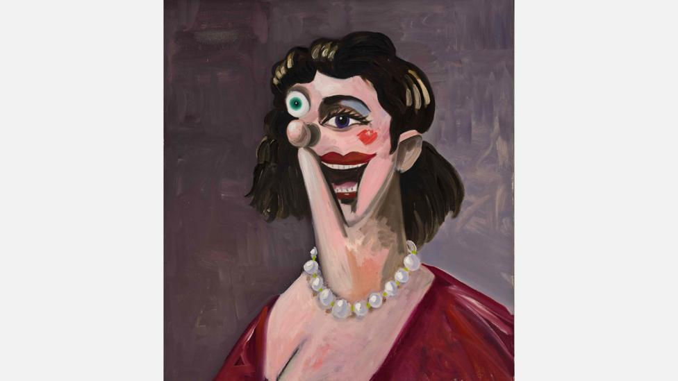 Contemporary artist George Condo, whose work bears similarity to Picasso's, is finding buyers in Asia – his Princess will be on view at Sotheby's (Credit: Sotheby's)