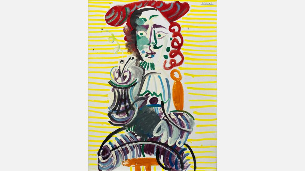 The Sotheby's show runs from 16 to 31 March – this is the second time in the past decade Picasso's Man With a Pipe has been on view in Hong Kong (Credit: Sotheby's)