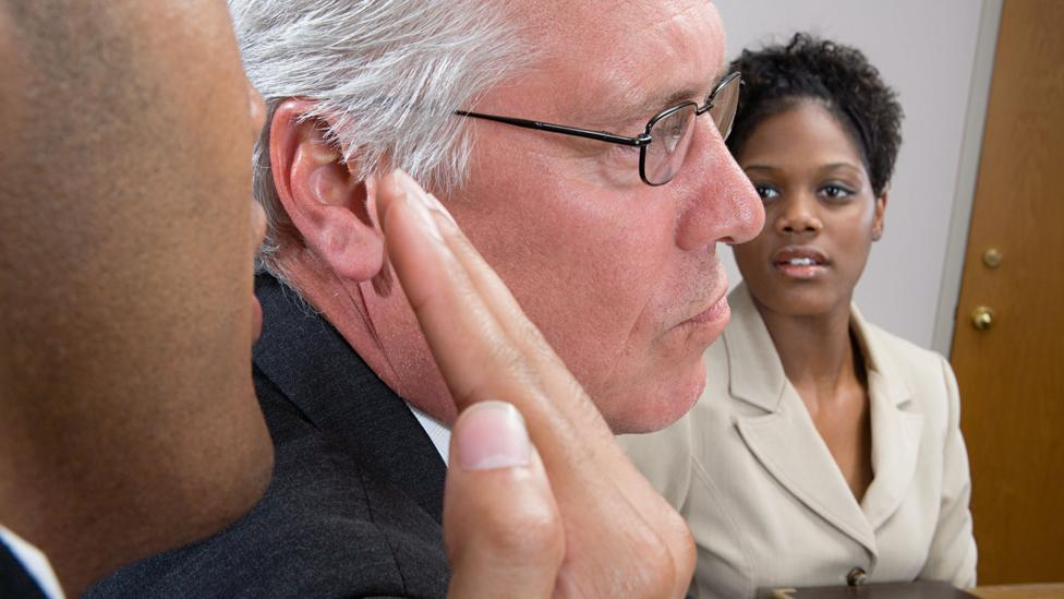 Microaggressions happen every day at offices - often times, the perpetrator isn't even aware of it (Credit: Getty Images)