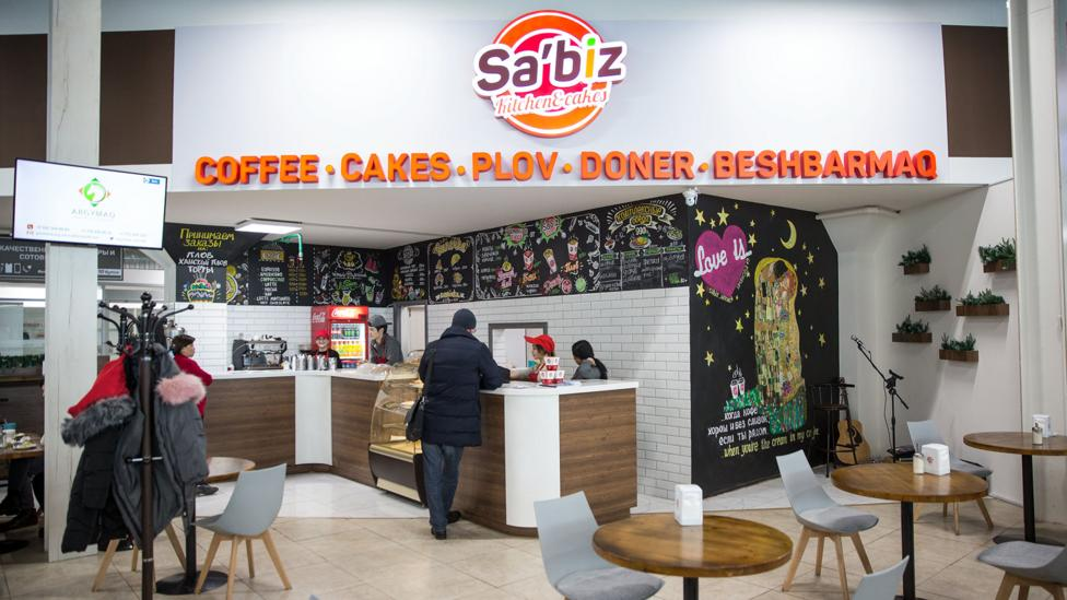 It will cost about $3,000 for Sa'biz restaurant to change the spelling of its name the new version, Sábiz (Credit: Taylor Weidman)
