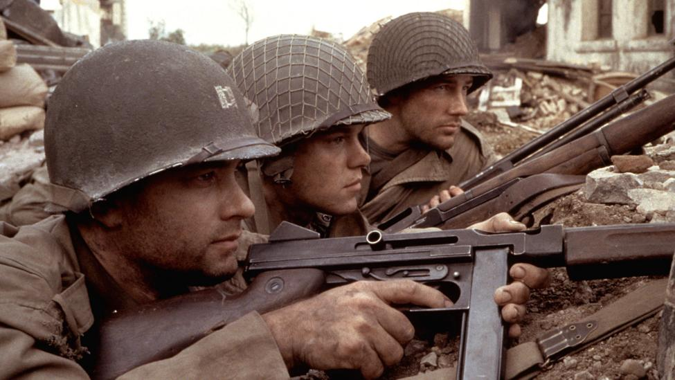 Films analysed that were exclusively male include 2012 Oscar-winner Argo and Steven Spielberg's Saving Private Ryan (Credit: Alamy)