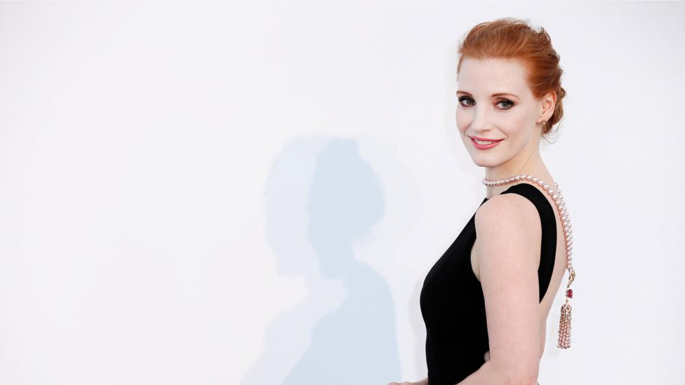 Last year at Cannes Jessica Chastain criticised the 'disturbing' portrayal of female characters in the festival programme (Credit: Alamy)