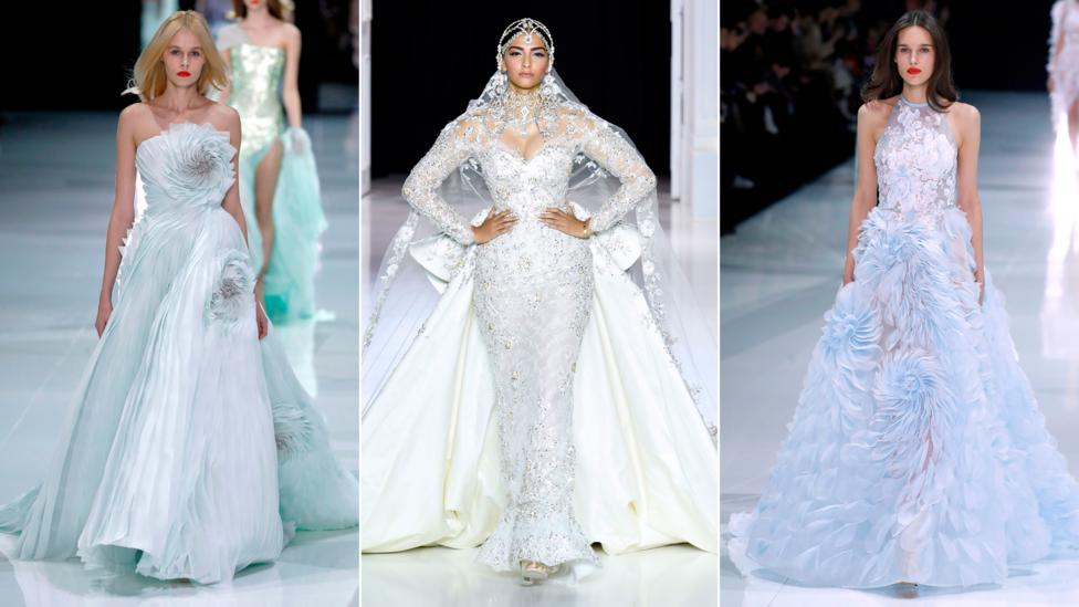 Creator of haute couture and bridal wear, Ralph & Russo is a respected brand – and widely tipped to be the choice of designer for the royal wedding dress (Credit: Getty Images)