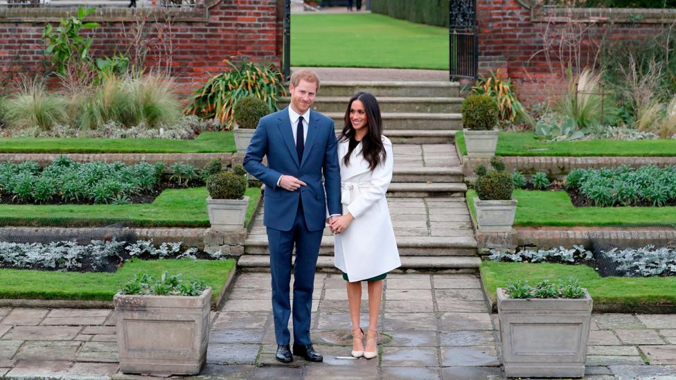 As a fan of minimalist elegance – seen here at the engagement announcement – will Meghan Markle opt for a simple, pared-down look for her wedding day? (Credit: Getty Images)
