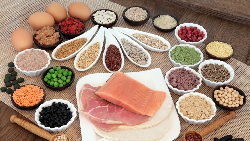 How much protein per day uk