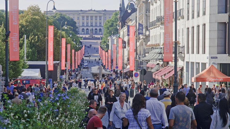 Oslo's population rose at record rates during the early 2000s, making it the fastest growing major city in Europe at the time (Credit: Getty Images)