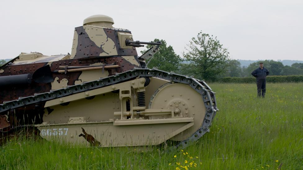 The WWI tank that helped change warfare forever - BBC Future