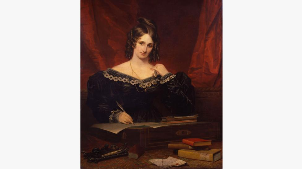 Mary Godwin (later Shelley) first thought of the story that became Frankenstein when she was 18 years old (Credit: Alamy)
