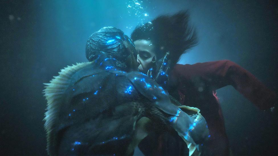 Guillermo del Toro's The Shape of Water is also a sci-fi monster fable; he is rumoured to be producing his own version of Frankenstein (Credit: Alamy)