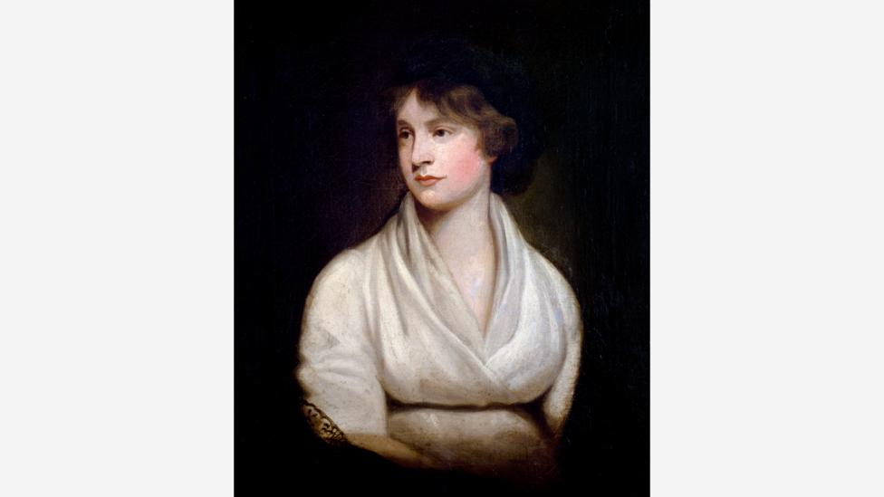 Mary lost her mother Mary Wollstonecraft (pictured) at her birth, had buried her baby and was looking after her pregnant step-sister as she was writing the book (Credit: Alamy)