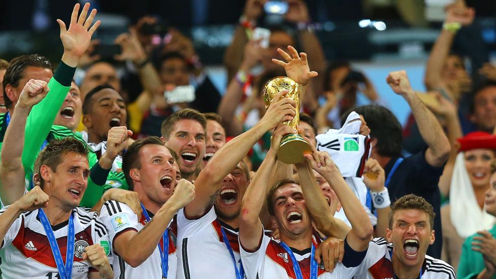 The current champions, Germany, are favourites to reach the final of this summer's tournament even if some predict Brazil might instead (Credit: Getty Images)